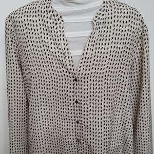Daisy Fuentes Tops - Patterned Blouse